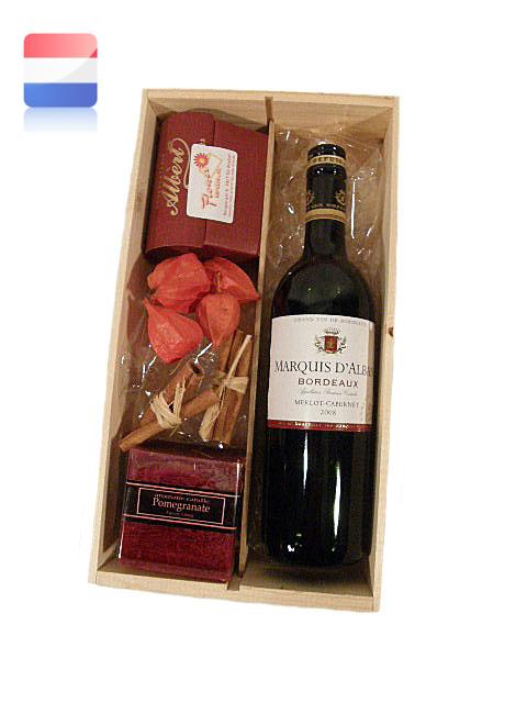 Wijnkist & Belgische bonbons