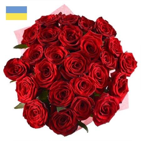 זר 25 ורד אדום